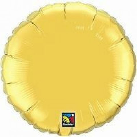 "Foil Balloon 18"" - Round (Gold)"