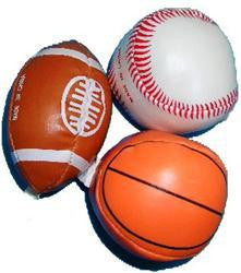 Soft Sports Balls Asstd