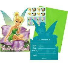 Invitation - Disney Fairies 8Pk