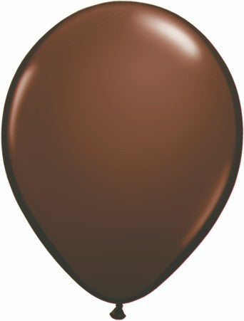 "Qualatex 11"" Fashion Latex - Chocolate Brown"