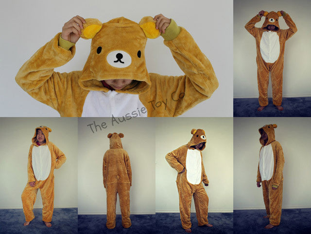 Costume - Onesie Teddy Bear (Adult)