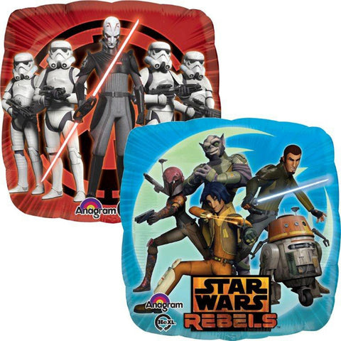 "Foil Balloon 17"" - Star Wars Rebels Birthday"