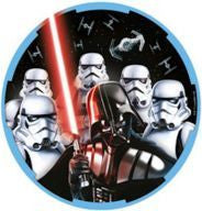 "Printed Plates 9"" - Star Wars Classic Pk 8"