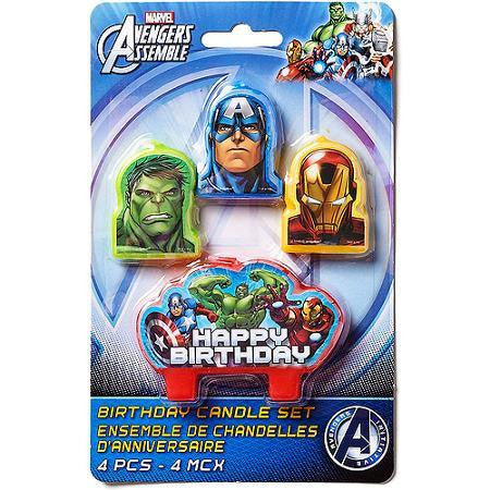 Candle Set - The Avengers 4 Pc