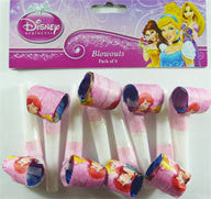 Blow Outs - Disney Princess Pk 8