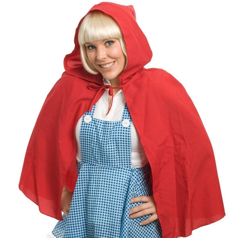 Cape - Hooded Red Riding Hood (Adult)