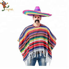 Costume - Mexican Poncho (Adult)