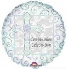 "Foil Balloon 18"" - Communion Celebration"