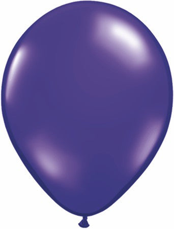 "Qualatex 11"" Jewel Latex - Quartz Purple"