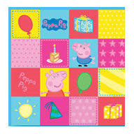 Printed Lunch Napkins 2Ply - Peppa Pig Pk 16