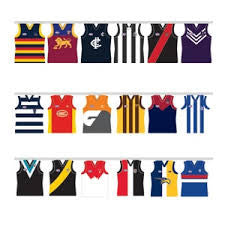 Bunting Flags - AFL All Teams 5m