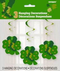 Hanging Decoration - St Patrick's Day Pk 3