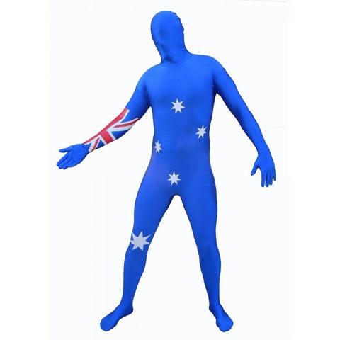 Costume - Aussie Flag Invisible Suit (Adult)