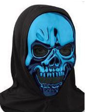 Mask - Metallic Skull Blue