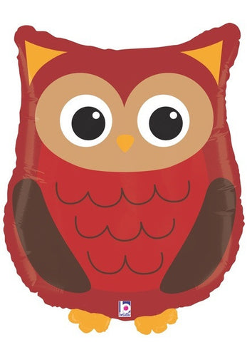 Foil Balloon Supershape - Woodland Owl