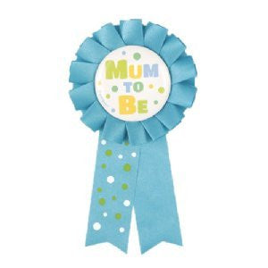 Award Ribbon - Mum To Be (Blue)