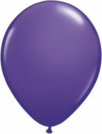 "Qualatex 11"" Fashion Latex 100pk- Purple Violet"