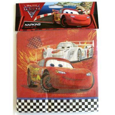 Napkins - Disney Cars Pk 16