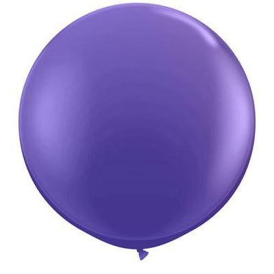 "Qualatex 36"" Jewel Latex - Quartz Purple"