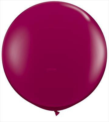 "Qualatex 36"" Jewel Latex - Sparkling Burgundy"