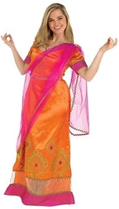 Costume - Deluxe Bollywood Starlet Orange (Adult)