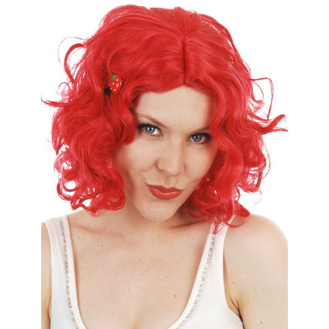 Wig - Strawberry Curls (Red)