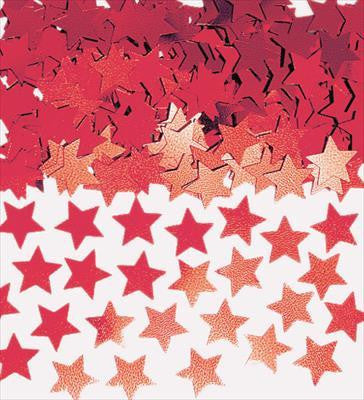 Confetti Scatters - Stars Red 10mm