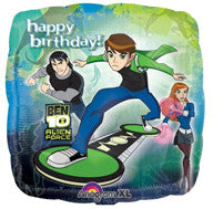 "Foil Balloon 18"" - Ben 10 Birthday"