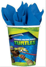 Printed Paper Cups - Teenage Mutant Ninja Turtles Pk 8