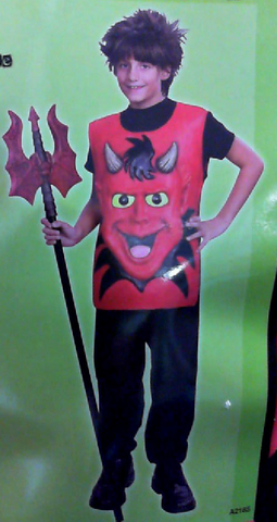 Costume - 3D Devil (Child)