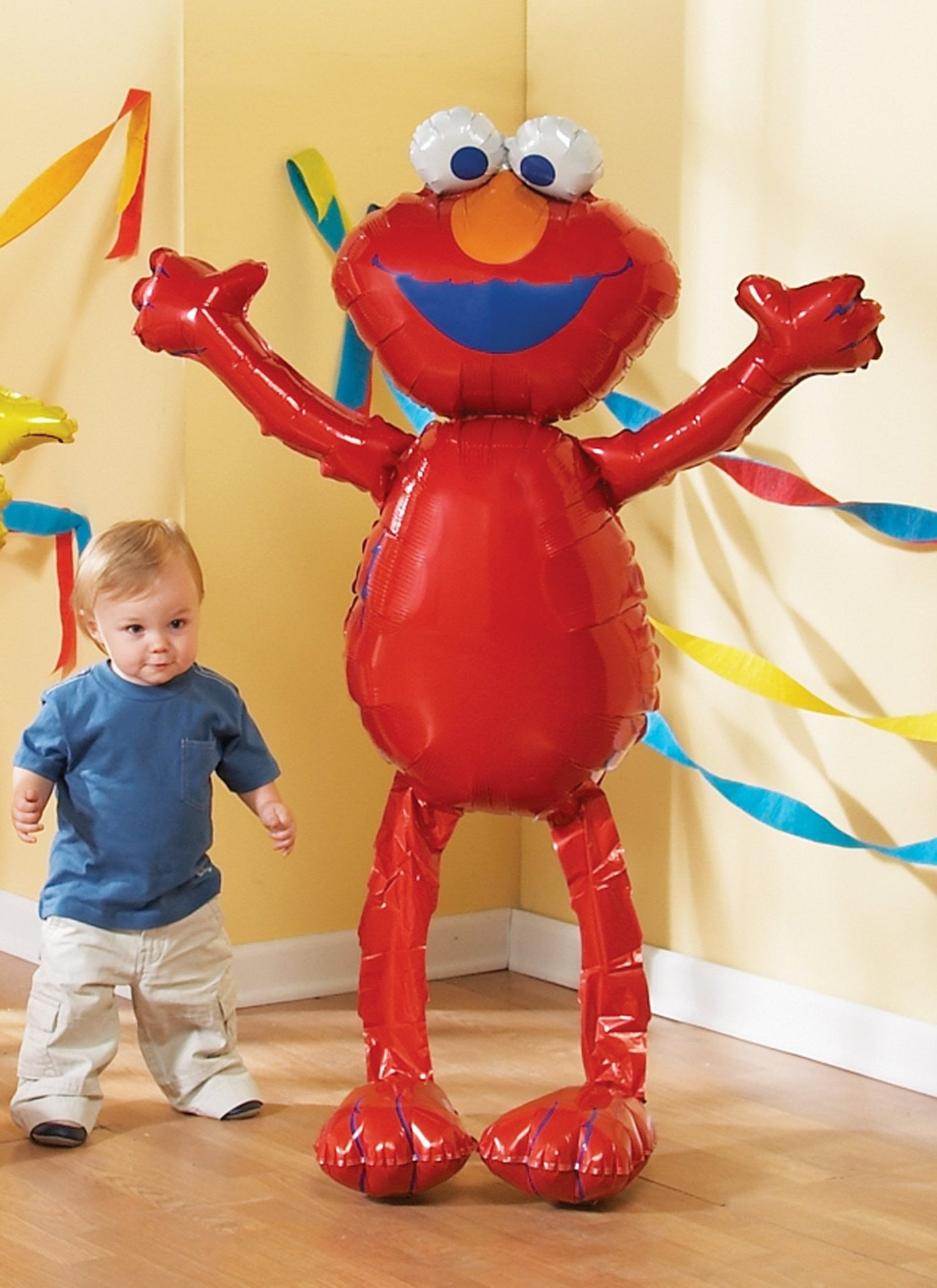Foil Balloon Air Walker - Elmo