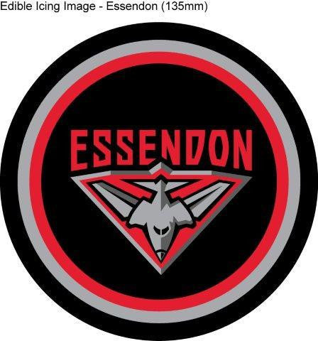 Edible Icing Image - AFL Essendon Bombers