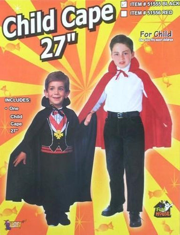 "Cape - 27"" with Collar (Child)"