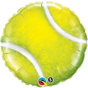 "Foil Balloon 18"" - Tennis Ball"