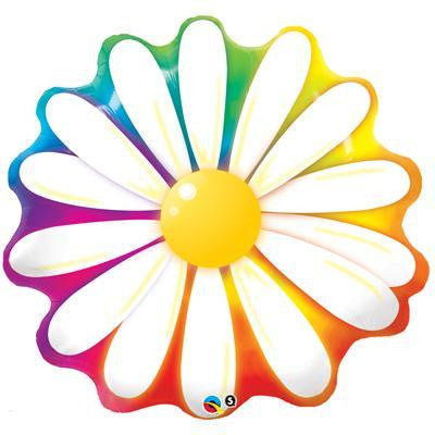 Foil Balloon Supershape - Delightful Daisy
