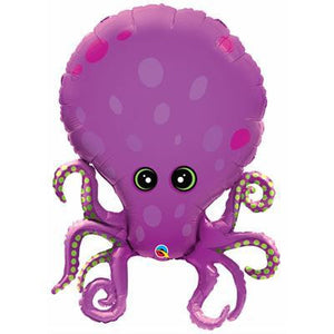 Foil Balloon Supershape - Amazing Octopus