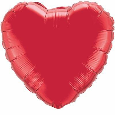 "Foil Balloon 18"" - Heart (Red)"
