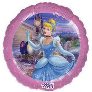 "Foil Balloon 18"" - Disney Princess Cinderella"