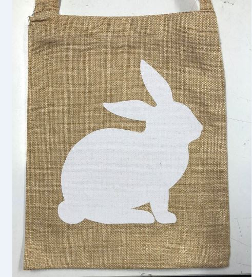 Tote Bag - Happy Easter Hessian Tote Bag Assorted Designs