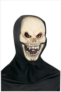 Mask - Skeleton Glow in the Dark w/Hood