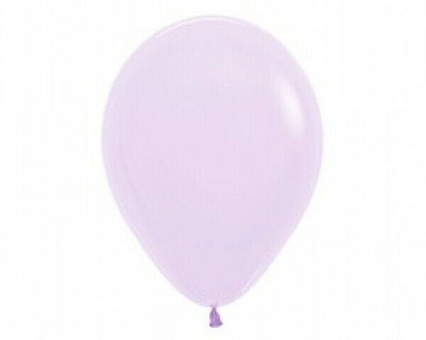 "Latex Balloon - Pastel Matte Lilac 12"" Pk25"