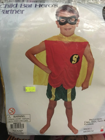 Costume - Bat Hero's Partner (child)