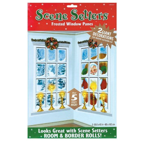Scene Setter - Frosted Window Panes Pk 2