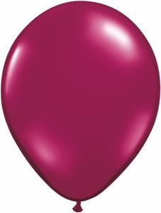 "Qualatex 11"" Jewel Latex - Sparkling Burgundy"