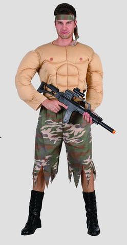 Costume - Rambo (Adult)