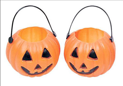 Mini Candy Bucket - Pumpkin Pk 6