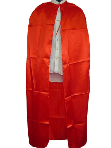 Cape - Red Satin 1.5m (Adult)