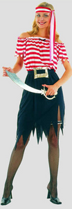 Costume - Adult Pirate Lady