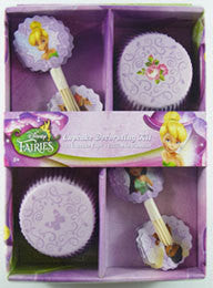 Cupcake Kit - Disney Fairies Tinkerbell
