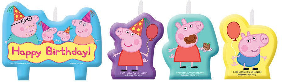 candle - Peppa Pig Birthday Candle